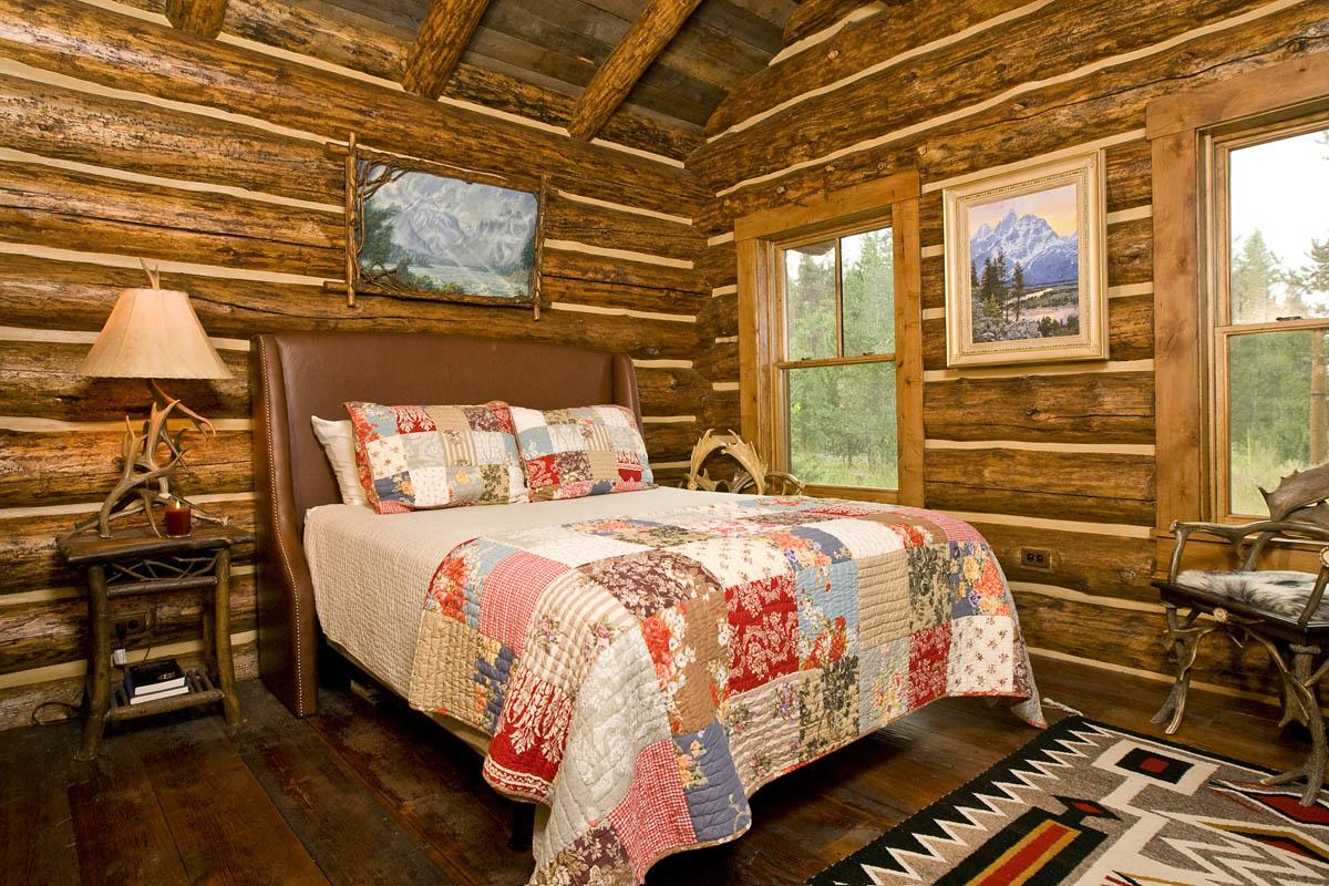 Log Cabin Interior Design In Jackson Hole