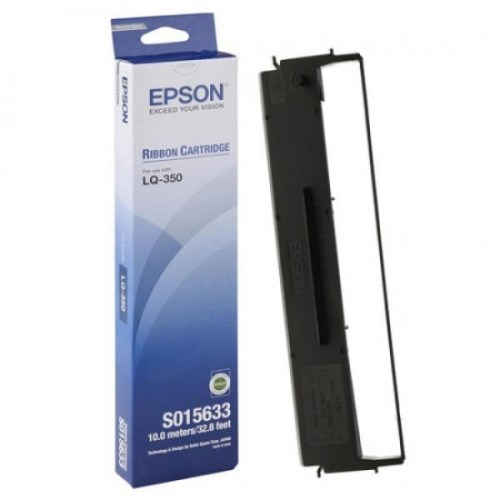 Epson LQ-350 black ribbon cartridge