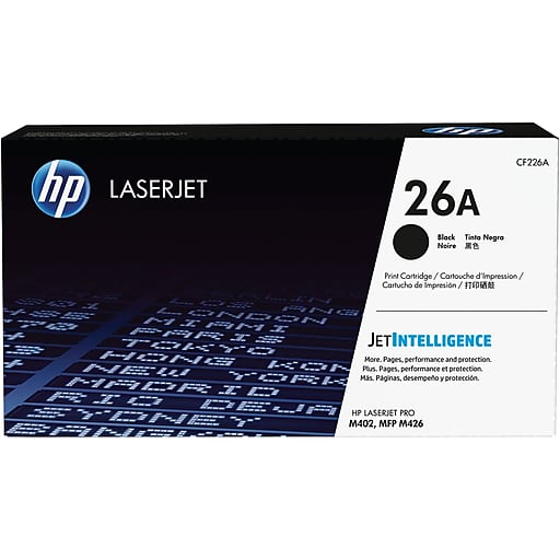 HP 26A Black Toner Cartridge CF226A