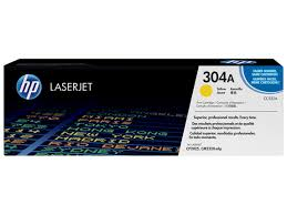 HP 304A Yellow Toner Cartridge