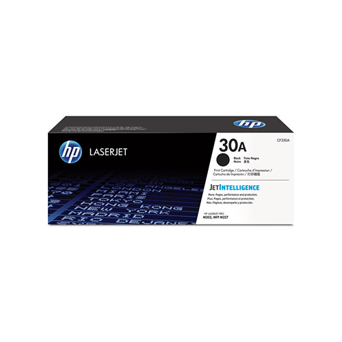 HP 30A Black Toner Cartridge CF230A