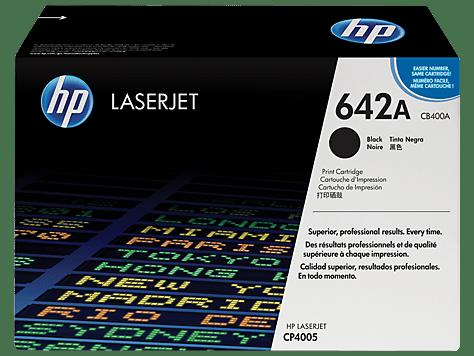 HP 642A Black Toner Cartridge