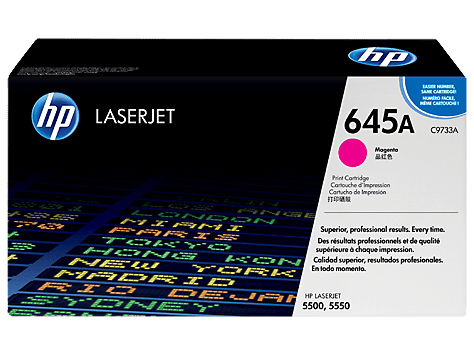 HP 645A Magenta Toner Cartridge