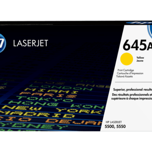 HP 645A Yellow Toner Cartridge