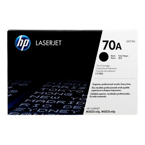 HP 70A Black Toner Cartridge