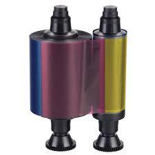 Evolis R3011 YMCKO full color ribbon