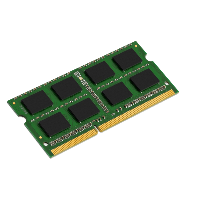 Form Factor: 260 PIN SODIMM Total Capacity: 8GB Speed: 2666 MT/S Specs: DDR4-2666, CL=19, 1.2V, Unbuffered, Single-sided 1-year limited manufacturer warranty