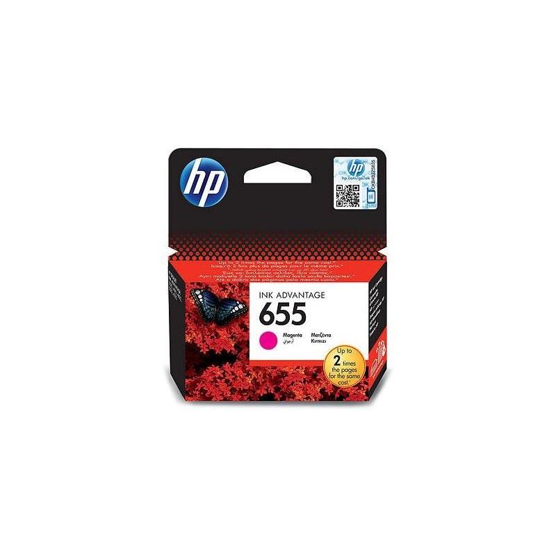 HP 655 Magenta Ink Advantage Cartridge