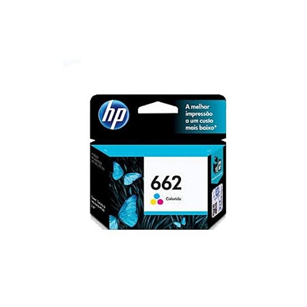 HP 662 Tri-color Ink Advantage Cartridge