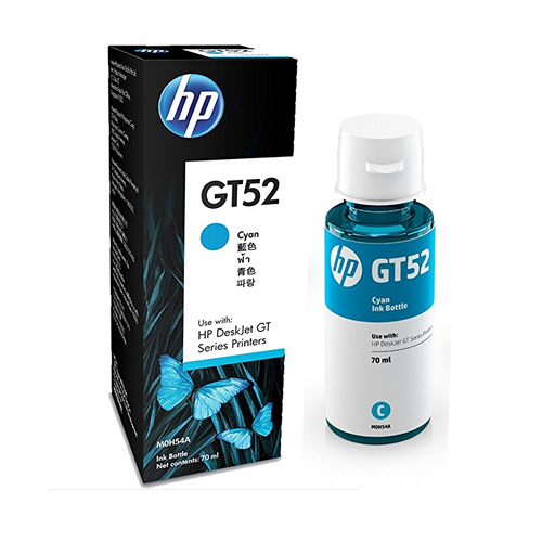 HP GT52 Cyan Original Ink Cartridge