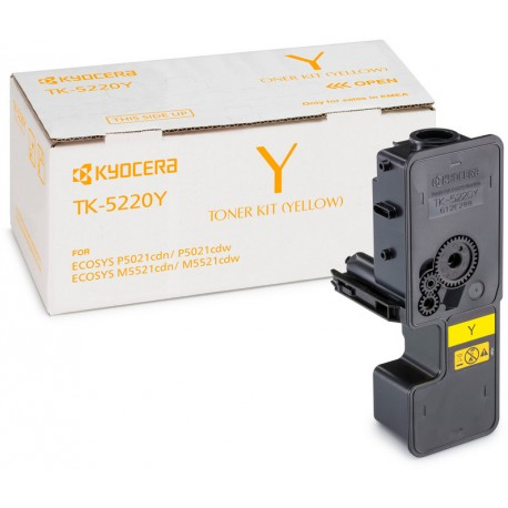 Kyocera TK-5220Y yellow toner cartridge