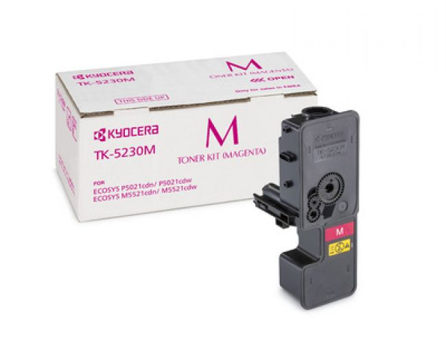 Kyocera TK-5230M magenta toner cartridge