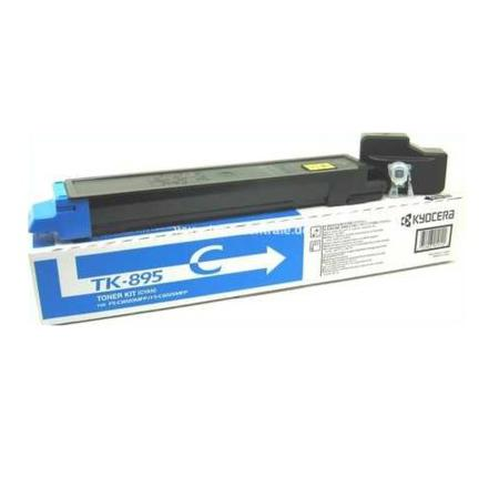 Kyocera TK-895C cyan toner cartridge