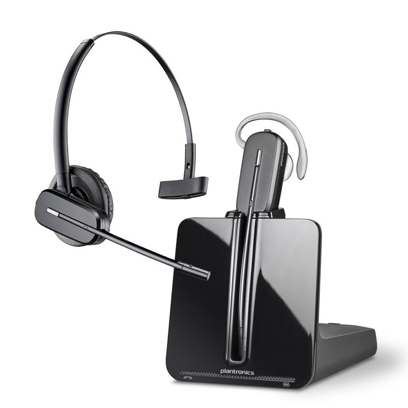 Plantronics CS540A wireless telephone DECT headset