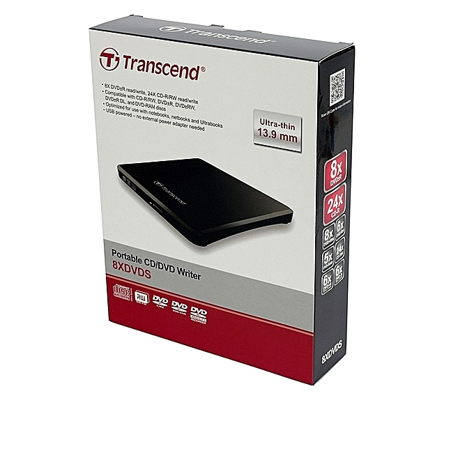 Transcend Slim 8X DVD-R writer
