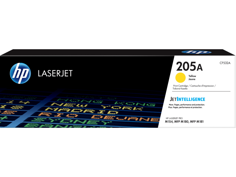 HP 205A Yellow toner cartridge