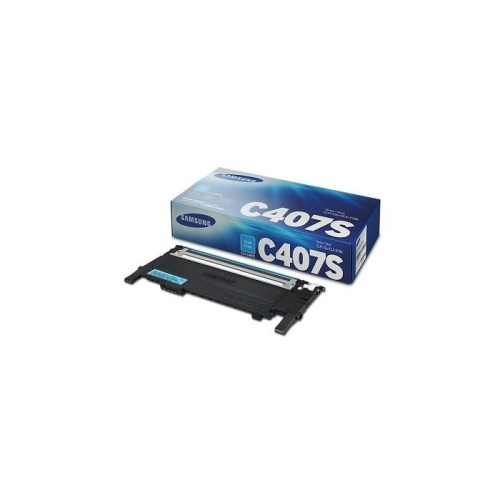 Samsung CLT-C407S Cyan Toner
