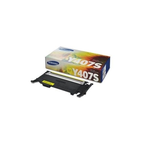Samsung CLT-Y407S Yellow Toner