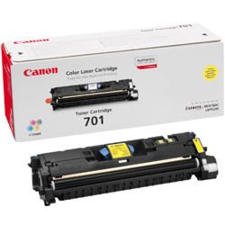 Canon 701 Yellow toner cartridge