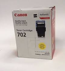 Canon 702 Yellow toner cartridge