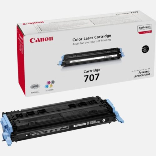 Canon 707 Black toner cartridge