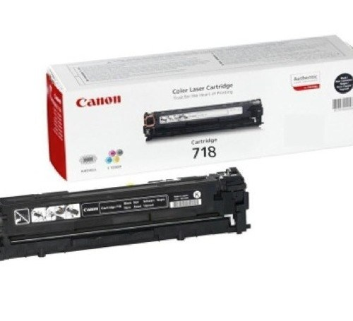 Canon 718 Black toner cartridge