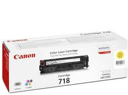 Canon 718 Yellow toner cartridge