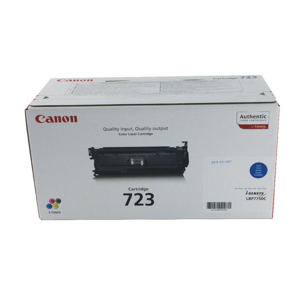 Canon 723 Cyan toner cartridge
