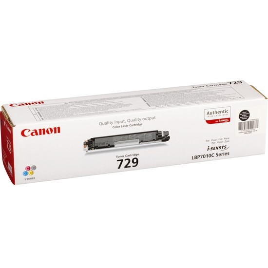 Canon 729 Black toner cartridge