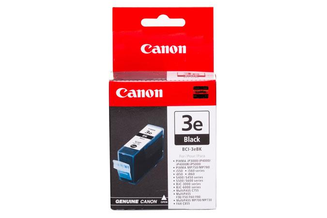 Canon BCI-3e Black Ink Cartridge