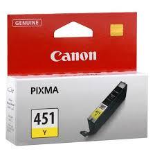 Canon CLI-451 Yellow Ink Cartridge