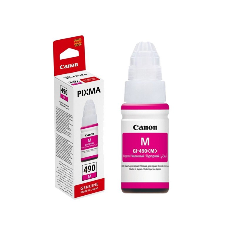 Canon GI-490 Magenta Ink Cartridge