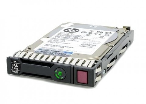 HP 1.2TB 6G SAS 10K 2.5 SC Server Hard Disk