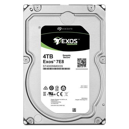 Seagate 4TB Exos 7E8 Enterprise SATA 3.5 inch Hard drive