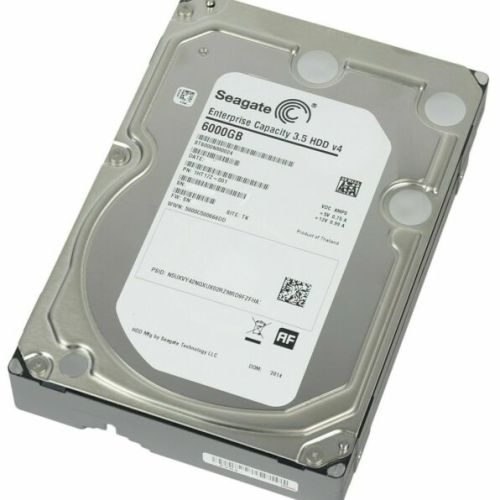 "Seagate 6TB Enterprise 3.5"" 7.2K 512E SATA Hard drive"