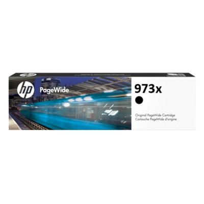 HP 973X High Yield Black Pagewide Cartridge