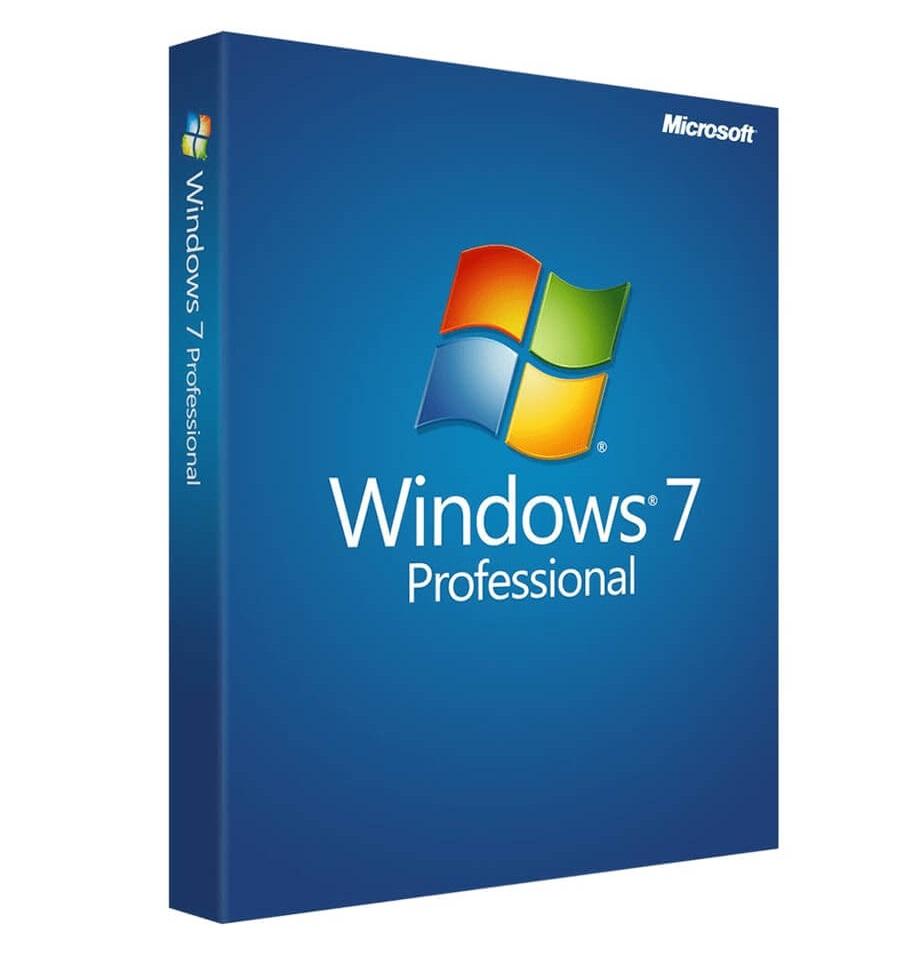 Microsoft Windows 7 Professional 32-64bit