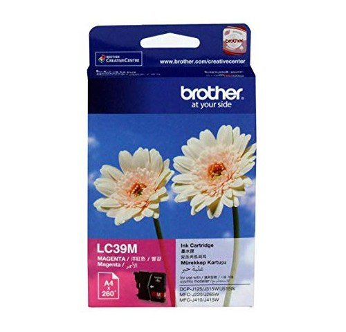 Brother LC39M Magenta Ink Cartridge