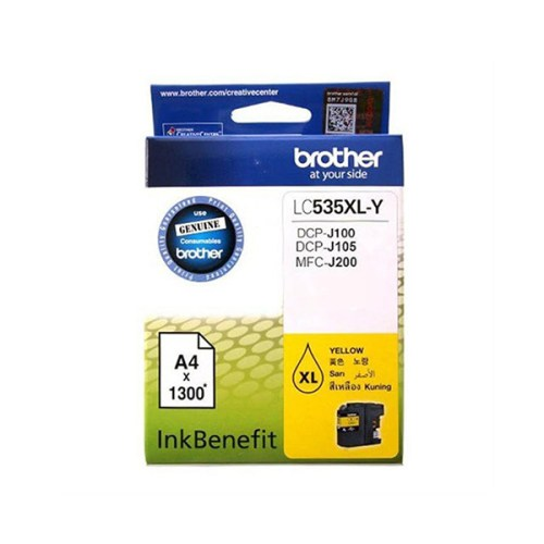 Brother LC535XL Y Yellow Ink Cartridge