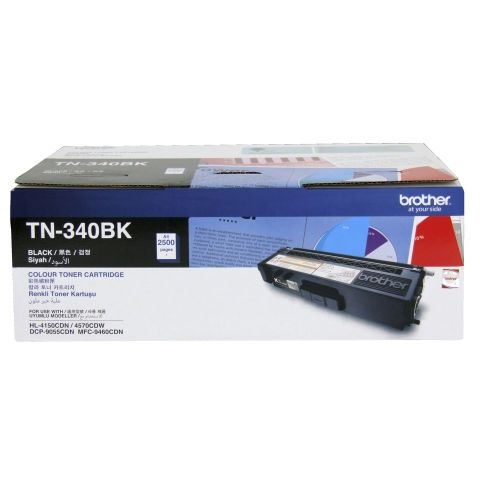 Brother TN-340BK Black Toner