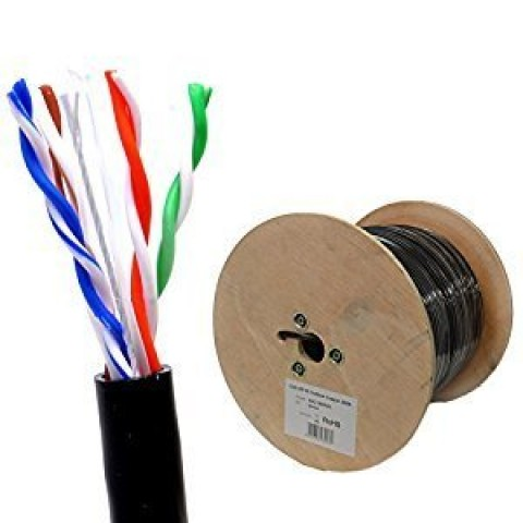 ACP ACP CAT5E Indoor Cable 305MSFTP outdoor Cable 305M