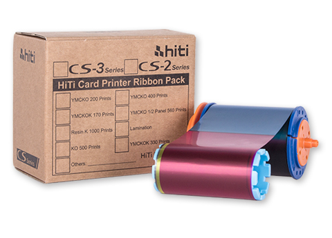 HiTi CS-3 YMCKO 200 Print Ribbon