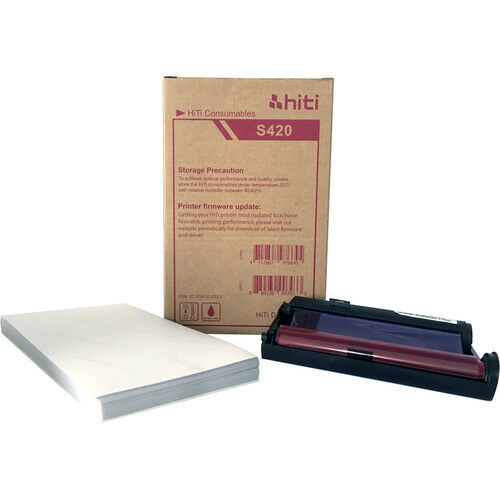 HiTi P110S 4x6 Paper Ribbon Media Kit