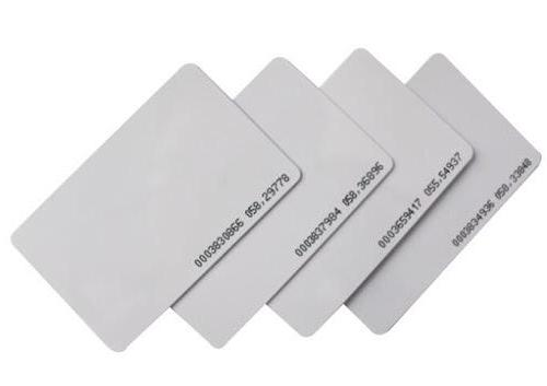 Blank White RFID Contactless Card