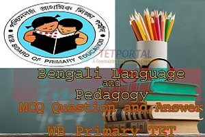 Bengali Language and Pedagogy MCQ Question with Answer