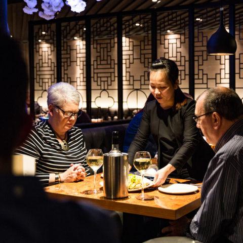 Dining at Tết Restaurant