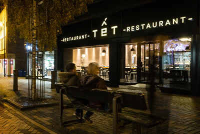 Tết Restaurant - The Exterior