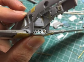 1/48 Ki-61ii (Hien) with teardrop canopy – WIP #7