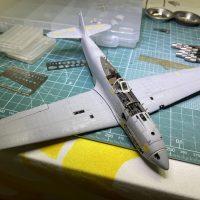 1/48 Ki-61ii (Hien) with teardrop canopy – WIP #17