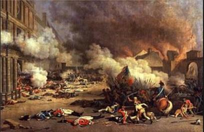 テュイルリー宮殿襲撃事件